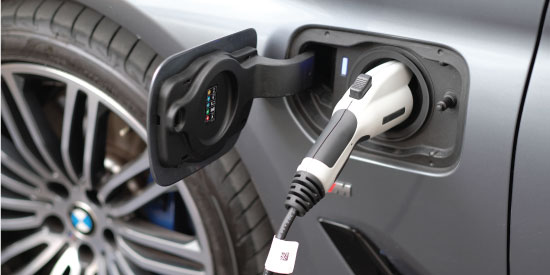 Products of Electric Vehicle in Electric Vehicle Asia Exhibition